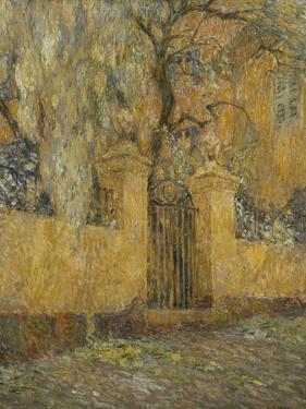 The Gate; Le Portail by Henri Eugene Augustin Le Sidaner