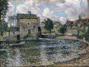 The Mill, Montreuil-Bellay, 1914 by Henri Eugene Augustin Le Sidaner