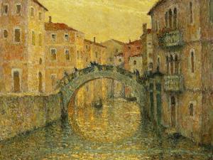 The Morning Sun, Venice; Le Matin, Soleil, Venise, 1917 by Henri Eugene Augustin Le Sidaner