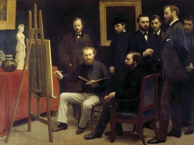 A Studio at Batignolles (Homage to Manet)