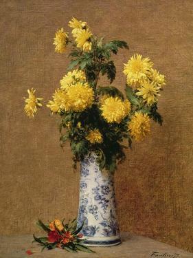 Chrysanthemums, 1879 by Henri Fantin-Latour