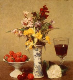 Engagement Bouquet by Henri Fantin-Latour