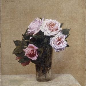 Fleurs - Roses Roses, 1886 by Henri Fantin-Latour
