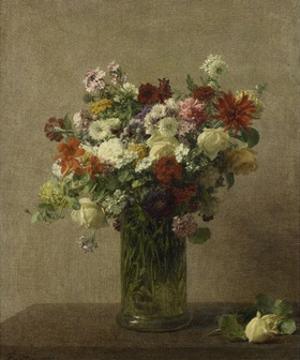 Flowers from Normandy, 1887 by Henri Fantin-Latour