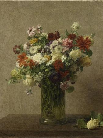 Flowers from Normandy by Henri Fantin-Latour