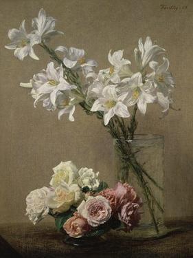 Lys dans un Vase by Henri Fantin-Latour