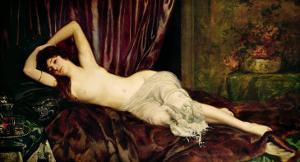 Reclining Nude by Henri Fantin-Latour