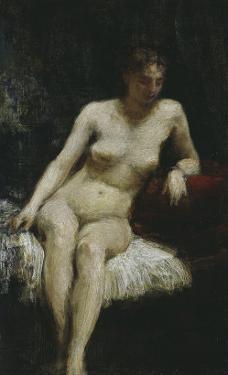 Study of a Female Nude, c.1872 by Henri Fantin-Latour