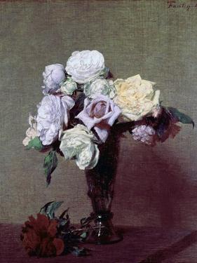 Vase of Flowers by Henri Fantin-Latour