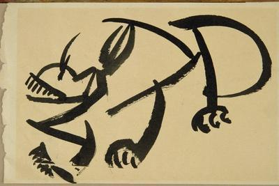 Cat About to Pounce, 1913