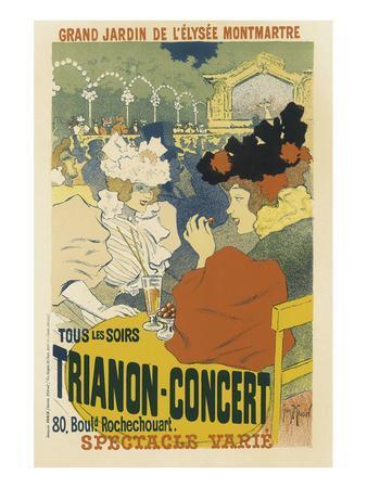 Trianon, Concert Grand Jardin De L'Elysee, Montmartre