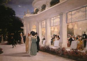 A Soiree at Pre-Catelan, 1909 by Henri Gervex