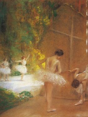 Ballerinas by Henri Gervex