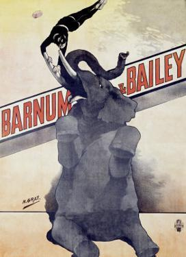 Barnum and Bailey by Henri Gray