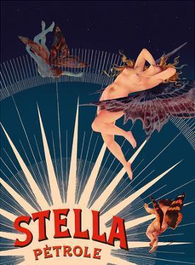Petrole Stella Gasoline - Nude, Nymph, and Cherub by Henri Gray