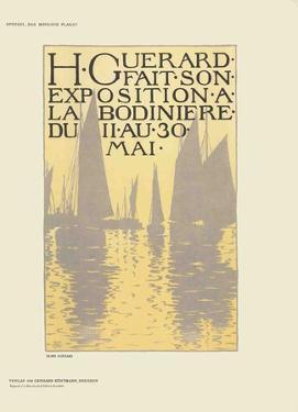 Exposition a La Bodiniere by Henri Guerard