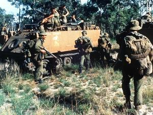 Aussie Troop Carriers by Henri Huet