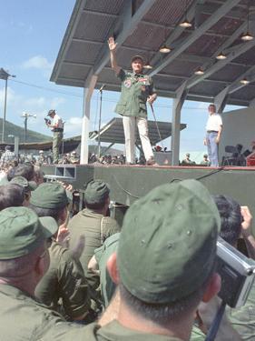 Vietnam War Bob Hope USO by Henri Huet