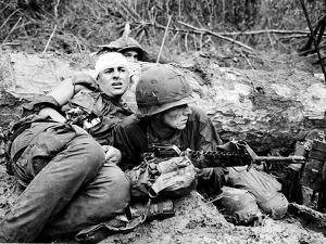 Vietnam War - U.S. Army Zone D by Henri Huet