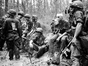 Vietnam War - U.S. Army Zone D by Henri Huet