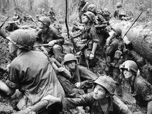 Vietnam War - U.S. Army by Henri Huet