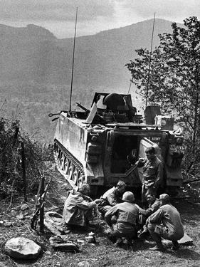 Vietnam War US Laos by Henri Huet