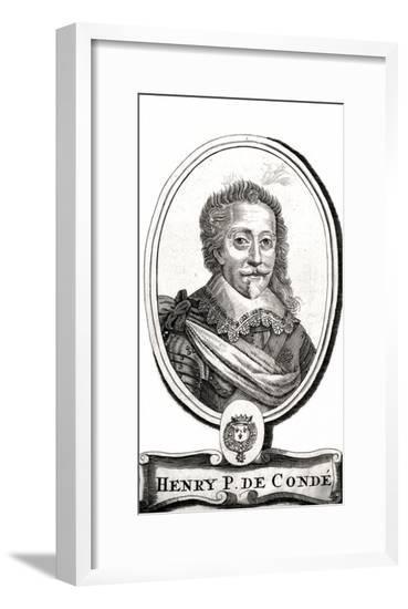 Henri I de Bourbon, Conde--Framed Giclee Print