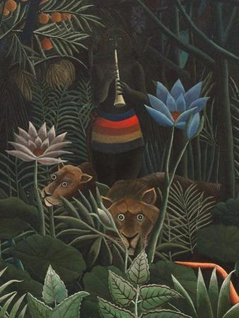 Detail of The Dream, 1910 by Henri J.F. Rousseau