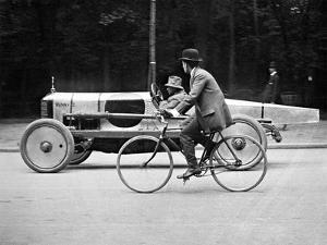 Lartigue: Automobile, 1912 by Henri Lartigue