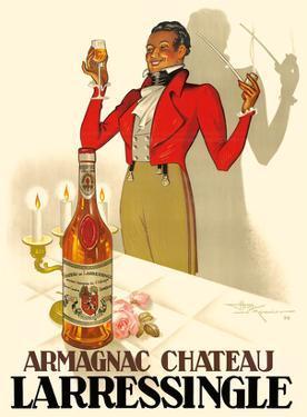 Armagnac Chateau Larressingle - French Brandy by Henri Le Monnier