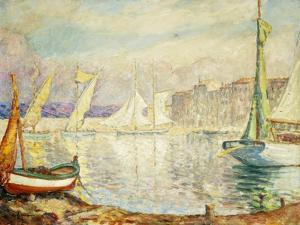 Le Port de Saint Tropez by Henri Lebasque