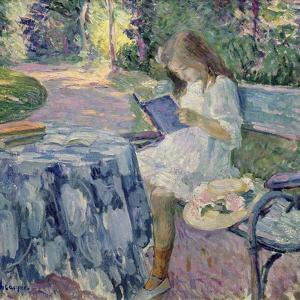 Reading by Henri Lebasque