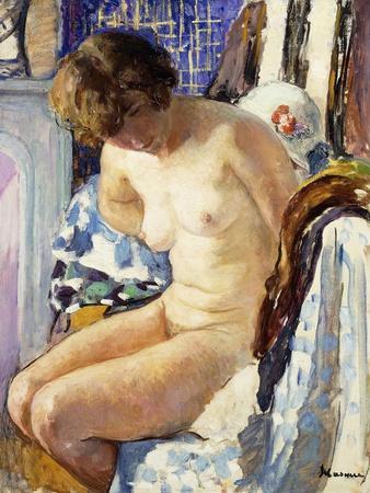 Seated Nude; Nu Assise