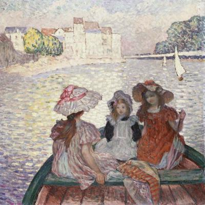 Three Girls in a Boat by Henri Lebasque