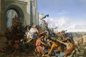 Death of Robert Le Fort in the Battle of Brissarthe, 866 by Henri Lehmann