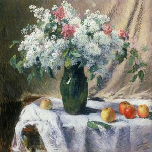 Vase of Flowers by Henri Lerolle