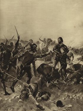 Battle of Poitiers, 1356 by Henri-Louis Dupray