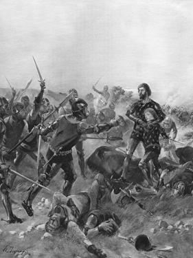 Battle of Poitiers, France, 1356 by Henri-Louis Dupray