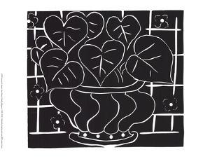 Basket of Begonias by Henri Matisse