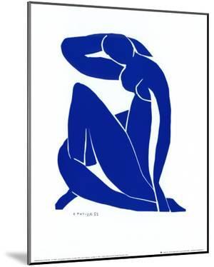 Blue Nude II by Henri Matisse