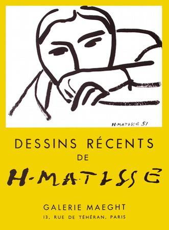 Expo 52 - Galerie Maeght by Henri Matisse