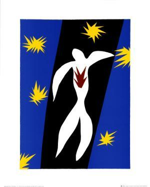 Fall of Icarus by Henri Matisse