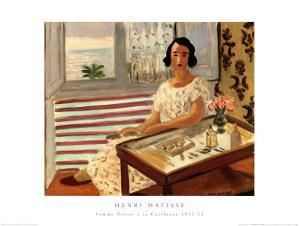 Femme Assise a sa Coiffeuse by Henri Matisse