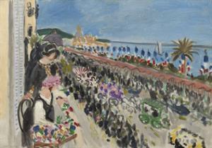 Festival of Flowers, Nice (Fete des fleurs), 1923 by Henri Matisse