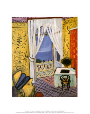 Interior with a Violin Case by Henri Matisse