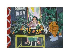 Interior with an Etruscan Vase, c.1940 by Henri Matisse