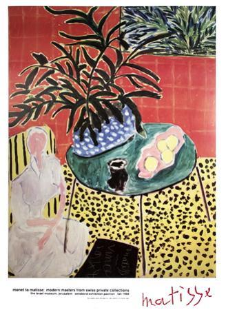 Interior with Black Fern by Henri Matisse