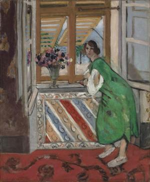 Jeune Fille a la Mauresque, Robe Verte by Henri Matisse