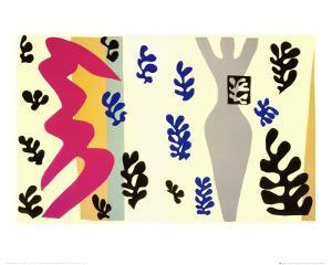 Knife Thrower by Henri Matisse