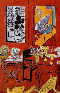Large Red Interior, 1948 by Henri Matisse